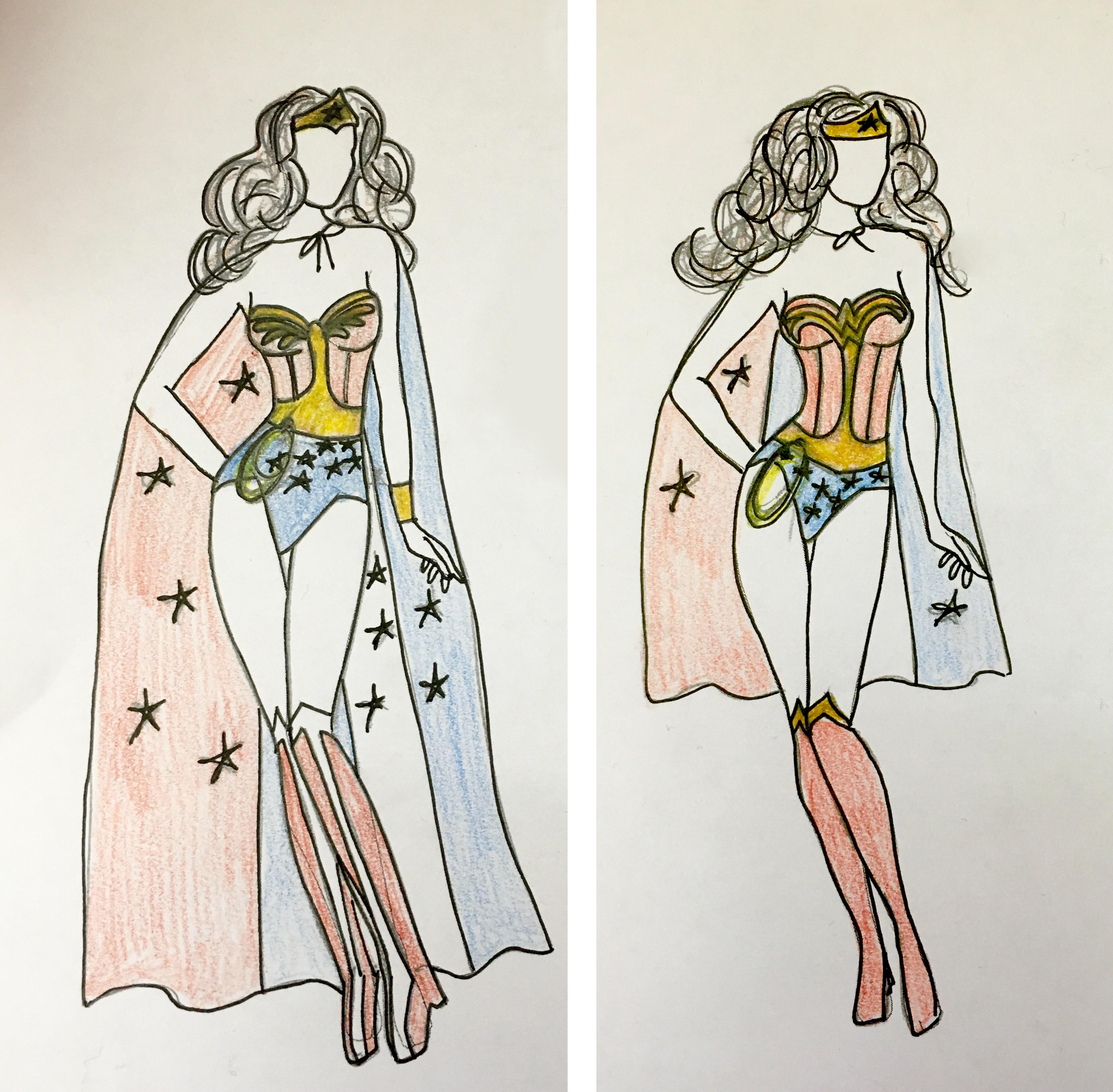 Wonder Woman Costume Mazokkos